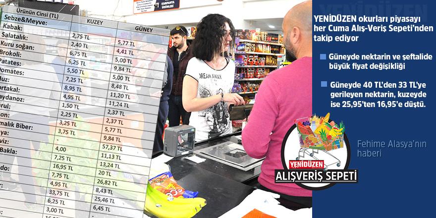 Meyve fiyatları düşüşte