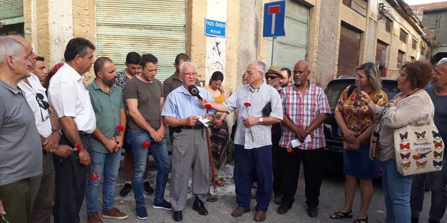 Kıbrıslı devrimciler, etkinlikle anıldı