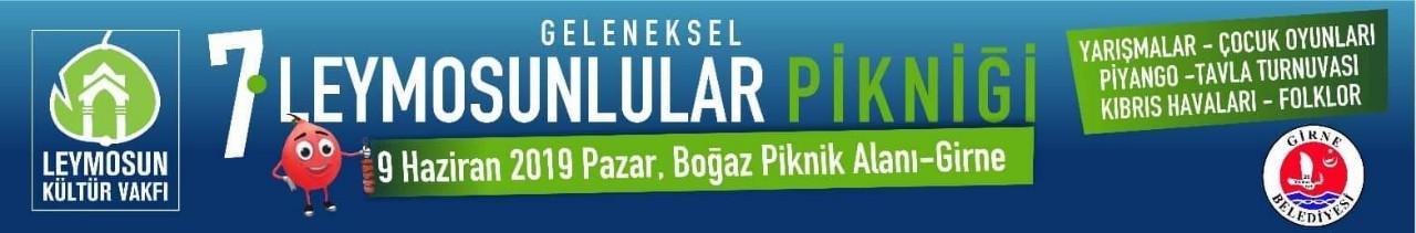 Leymosunlular Boğaz Piknik alanın'da buluşacak