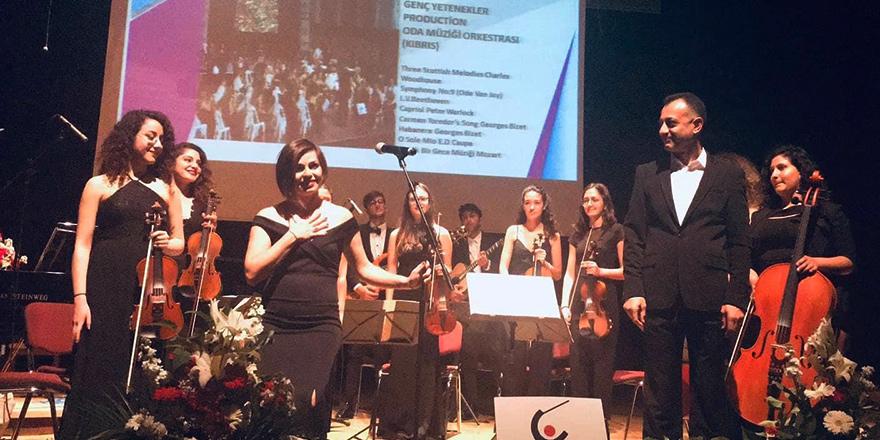 Genç Yetenekler Production Senfoni Orkestrası Türkiye'de Konser Verdi