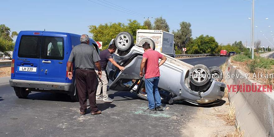 76 trafik kazasında 31 kişi yaralandı