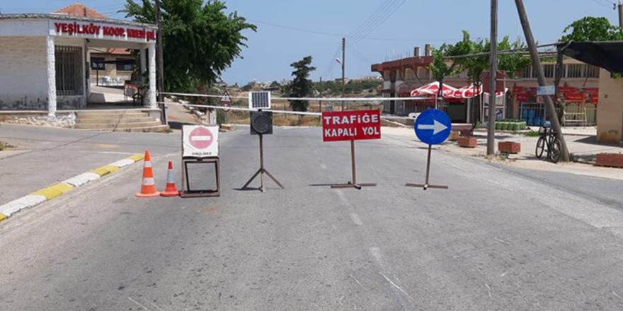 Yeşilköy'deki o yol yine kapandı