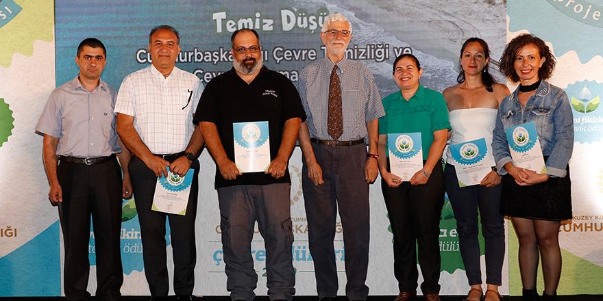 'Çevre' ödülleri verildi