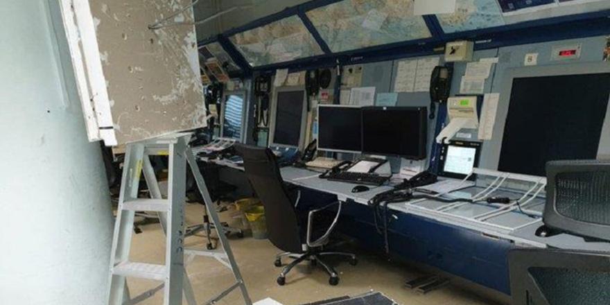 Uçuş Kontrol Merkezi tavanı çöktü: 1 yaralı