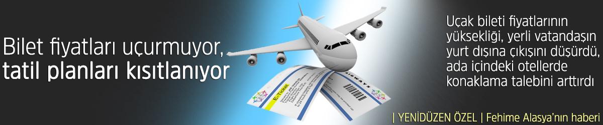 Bilet fiyatları uçurmuyor, tatil planları kısıtlanıyor