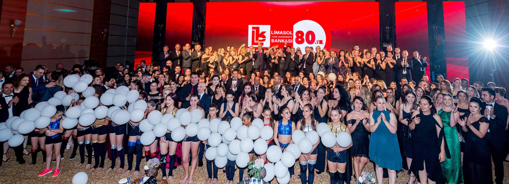 """Limasol Bankası'nın """"80. gurur yılı gala gecesi"""""""