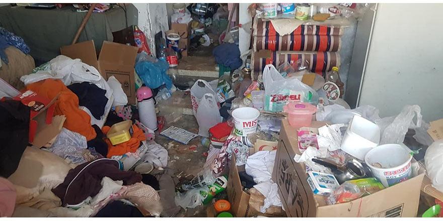 Esentepe'de çöp ev