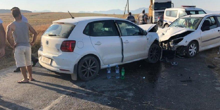 Kaza korkuttu: 4 yaralı
