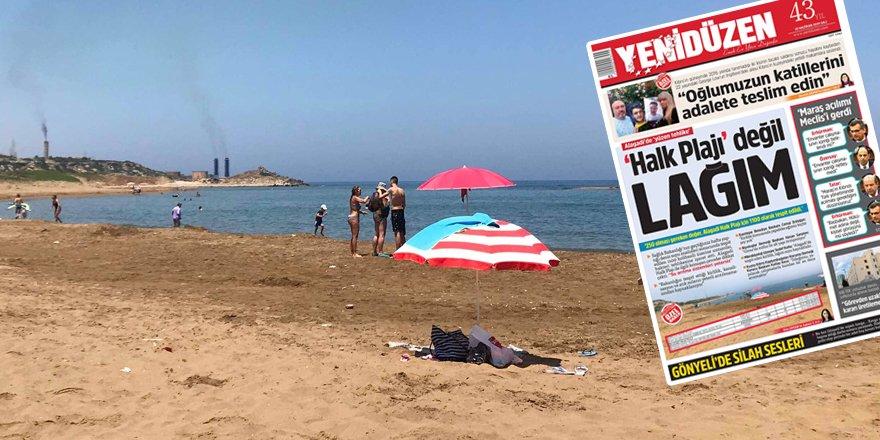 Çağıner: 'Otel plajlarımız temizdir'