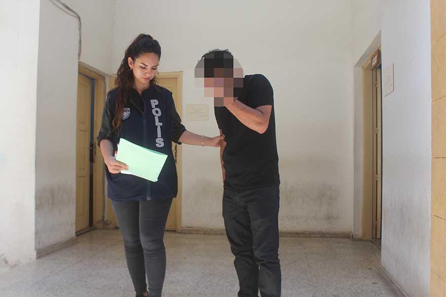 'Taciz' zanlısı cezaevine gönderildi