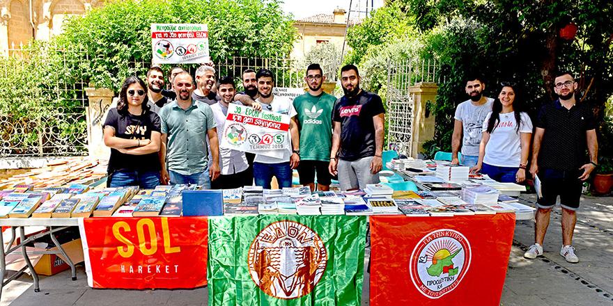 İki toplumlu kitap pazarı düzenlendi