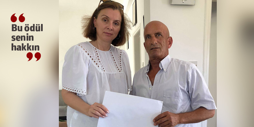 Gazeteci Rally Papageorgiu'dan anlamlı tavır