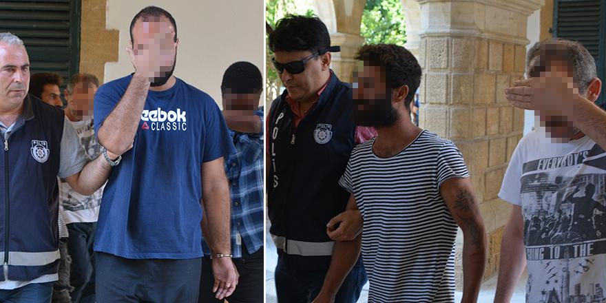 Kaçak tespit edilen 4 kişi, 3 gün tutuklu kalacak