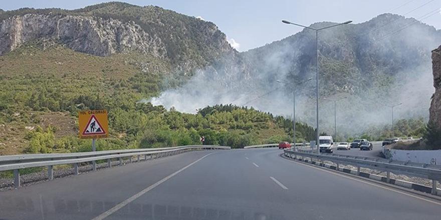 Ciklos'ta yangın
