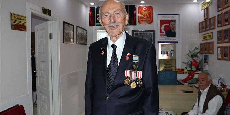 96 yaşında ve hala dinç