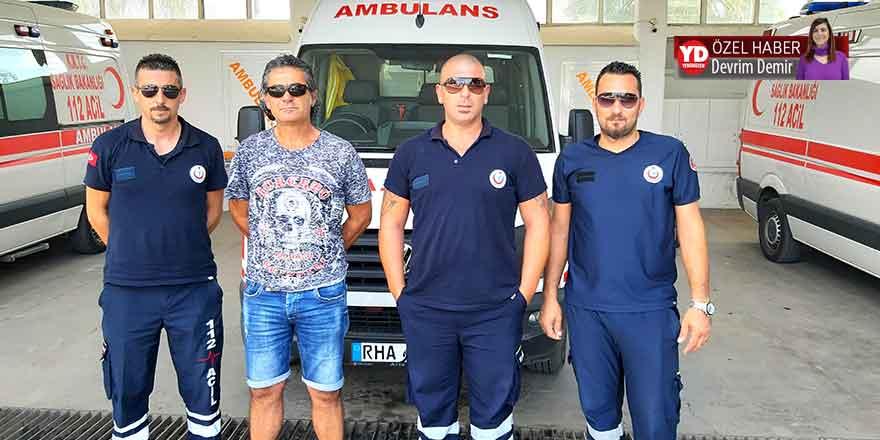 Ambulans şoförlerinden 'ek mesai kesintisi' tepkisi