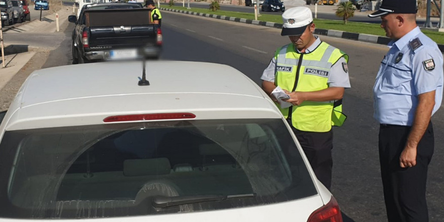 7 bin 442 araçtan 776'sına yasal işlem yapıldı