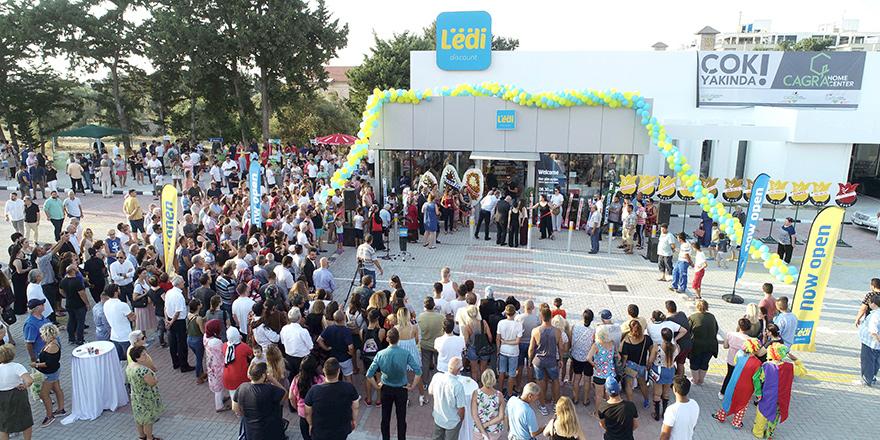 """""""En ekonomik market"""" sloganıyla LEDİ açıldı"""