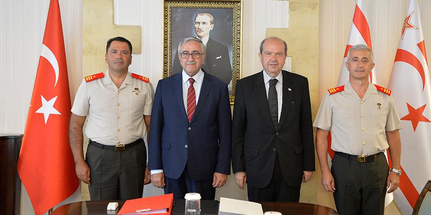 GKK Komutan Yardımcısı tuğgeneralliğe terfi eden Piyade Albay İbrahim Dağman oldu