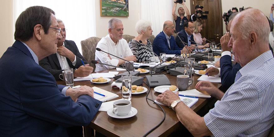 Parti Başkanları önerilerini sundu