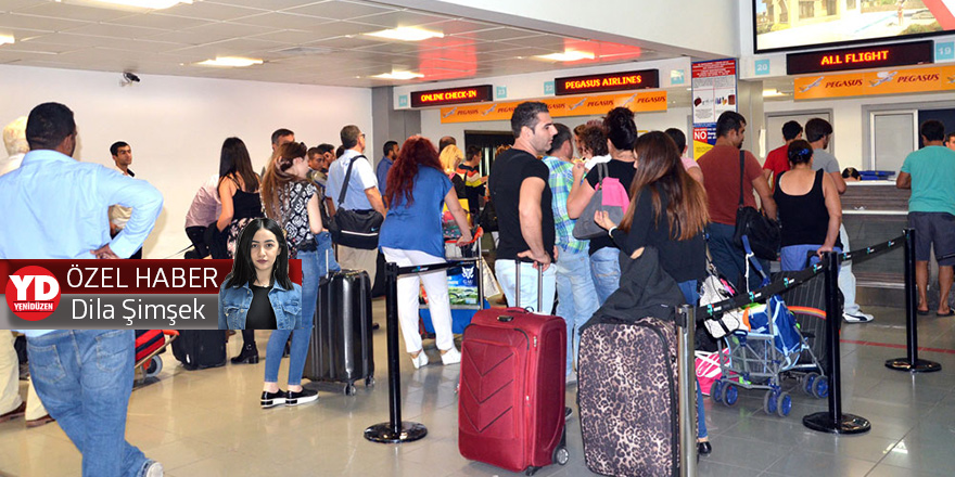 Ercan'da 'bayram' trafiği: 10 günde 857 uçuş