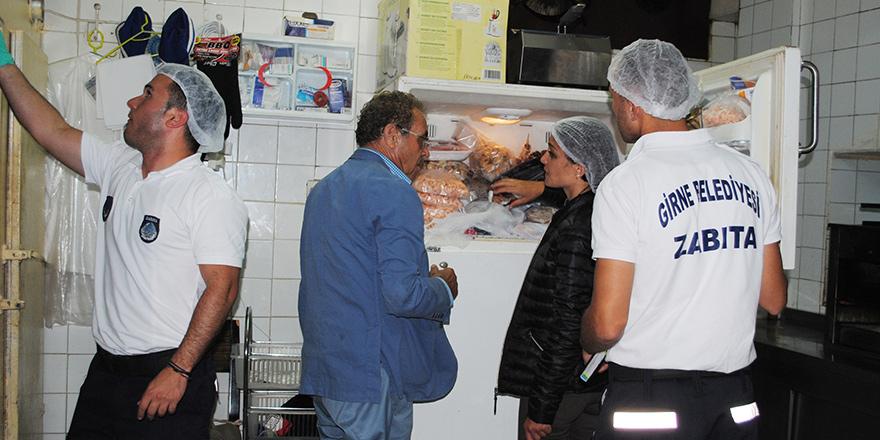 Girne'de 4 işletme mühürlendi