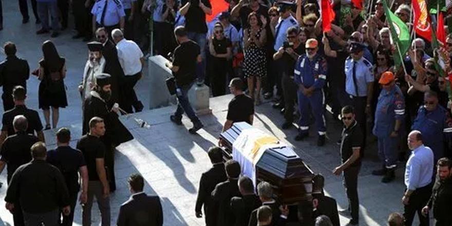 Hristofyas'ın mezarına çirkin saldırı