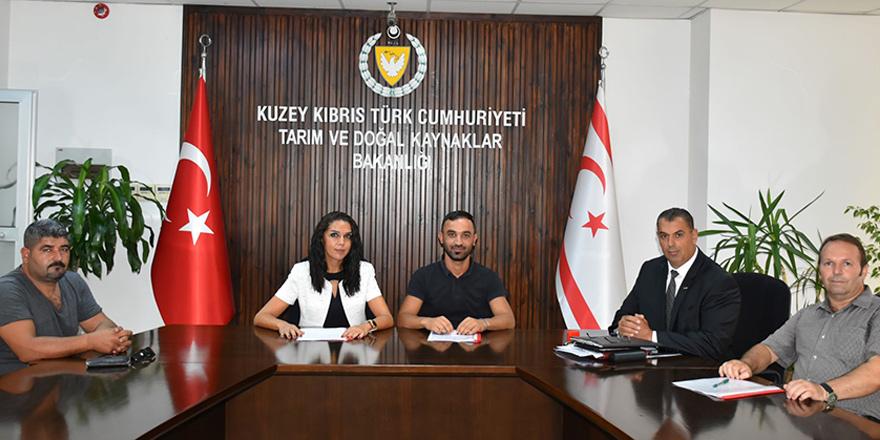 Dipkarpaz Kalkınma Kooperatifi ile SÜTEK arasında protokol imzalandı