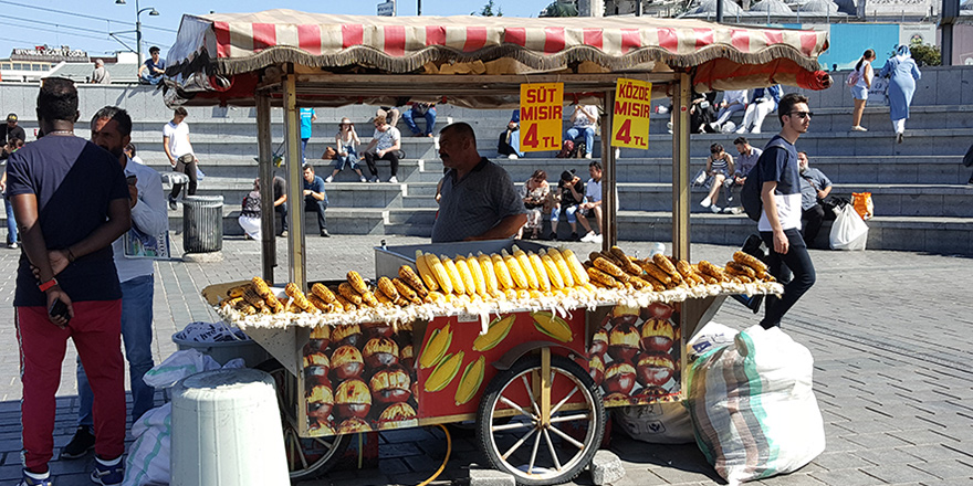 İstanbul Sokak Satıcıları