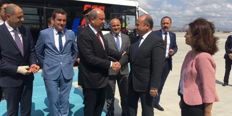 Tatar'ı Ankara'da Başçeri karşıladı