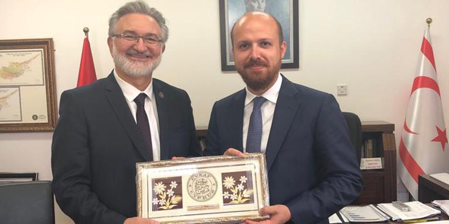 Bilal Erdoğan, Benter'i ziyaret etti