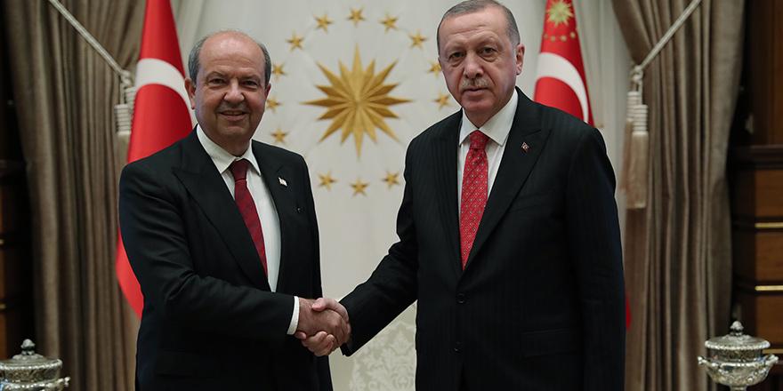 Erdoğan - Tatar görüşmesi tamamlandı