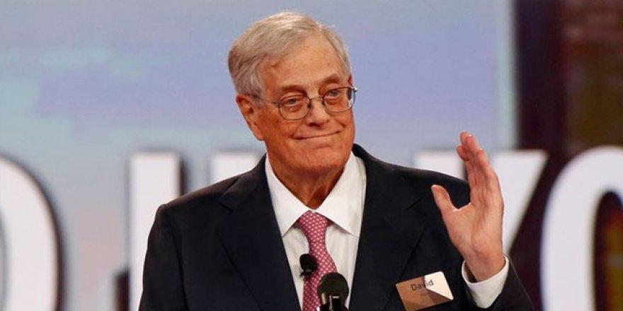 ABD'li milyarder Koch yaşama veda etti