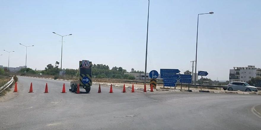 Lefkoşa'dan Mağusa'ya gidecek araçlara uyarı