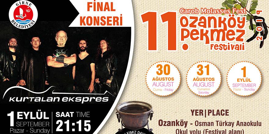 Ozanköy Pekmez Festivali başlıyor