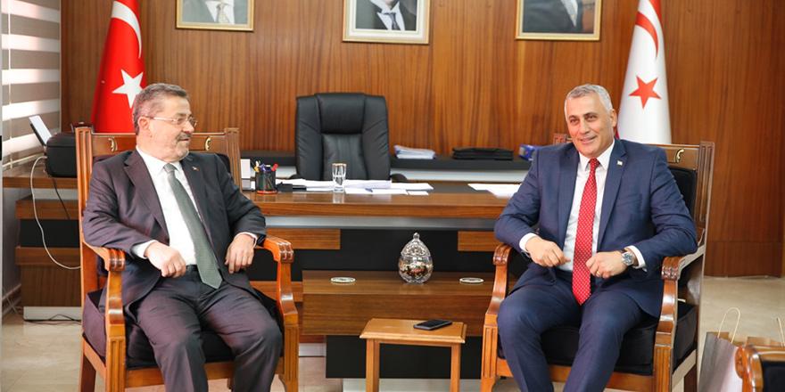 Amcaoğlu, Turkcell heyetini kabul etti