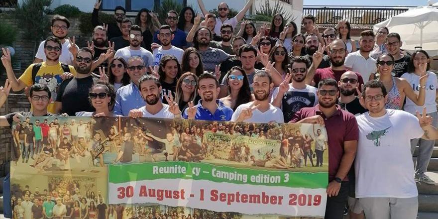 Kıbrıslı Türk ve Rum gençler ortak kampta buluştu