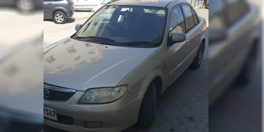 Lefkoşa'da araba hırsızlığı!