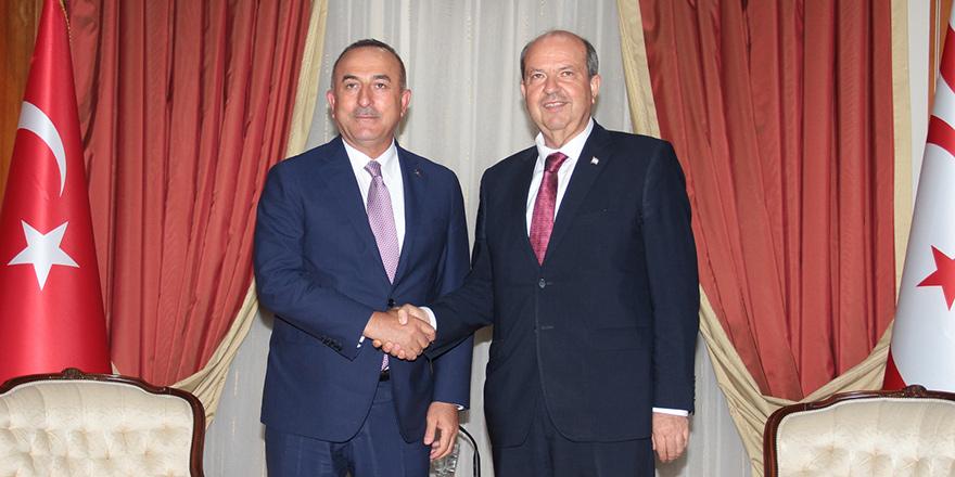 """Çavuşoğlu: """"Kıbrıs Türk halkına desteğimiz sürecek"""""""