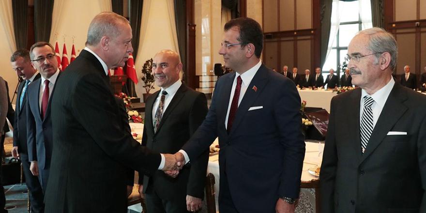 Erdoğan, belediye başkanlarıyla buluştu