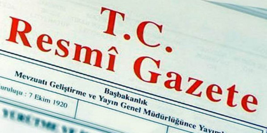 Protokol TC Resmi Gazete'de