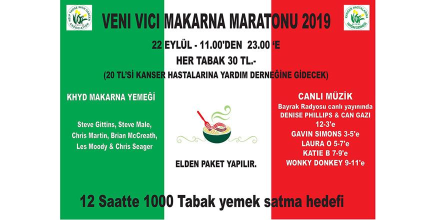 """Lapta'da """"Makarna Maratonu"""" düzenleniyor"""