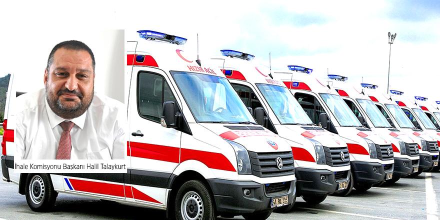 'Ambulans İhalesi' iptal edildi