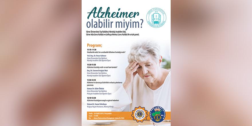 """""""Alzheimer Olabilir Miyim?"""