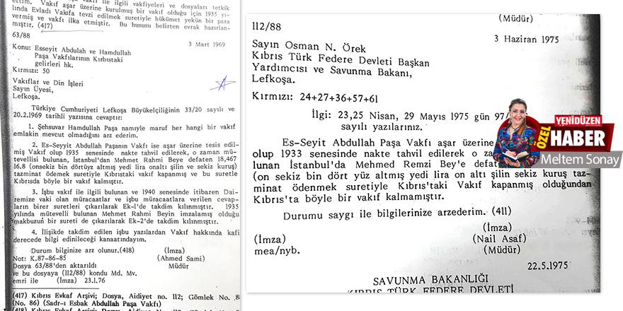 'Belgelerle Kıbrıs Türk Vakıflar Tarihi': 'Tazminatı ödendi,  kapandı'