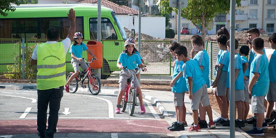 '9 yılda 58 bin 86 öğrenci trafik eğitimi aldı'