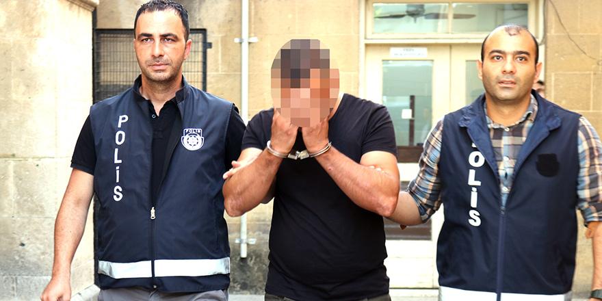 Seri hırsızlıktan yakalanan zanlı kaçak da çıktı