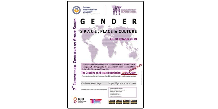 Toplumsal Cinsiyet Eşitliği Konferansı 10 Ekim'de...