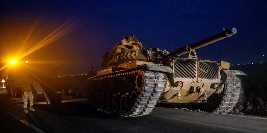"""""""Türkiye Suriye sınırını geçti"""""""