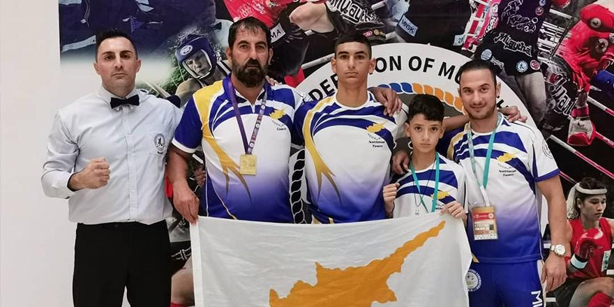 11 yaşındaki Kkosti'nin Antalya'da madalya sevinci